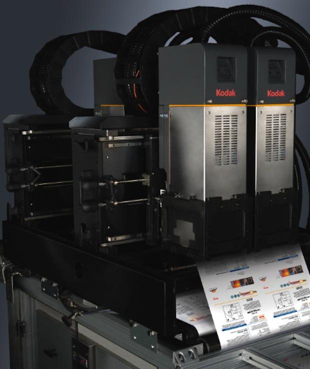 Kodak Prosper S10 inkjet print heads